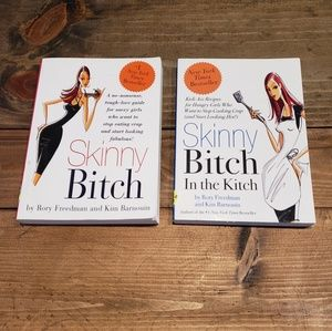 Other - Book Lot of 2 Skinny Bitch in the Kitch Paperbacks